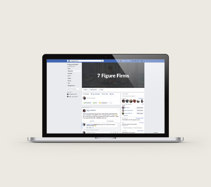 Private Mastermind Facebook Group